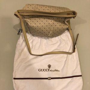 Gucci CENTENNIAL beige vintage Gucci stripes
